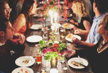 Hosting a dinner party / by Pearl Robin