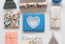 Wrapping and stationery / Make your gifts a little bit more special with a touch of YOU!