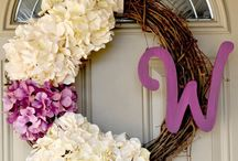 Wreaths! / by Ashle'Anne Potter
