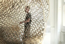 Fabulous Home Products / #nature #wood #recycled #modern #geometric #parametric #lasercut