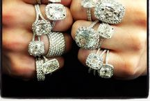 Bejeweled: Put a Ring on It! / Hooked on engagement rings... Bigger, better, more! / by Gina Marie Santore