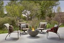 Brown Jordan Fires / Brown Jordan Fires provide all of the comfort and warmth of an open fire without smoke, soot or a utility connection.  At the heart of every Brown Jordan Fire lies advanced EcoSmart Fire technology fueled by clean burning e-NRG bioethanol.  From eco-friendly firepits and decorative accents to fire tables and build-in models Brown Jordan Fires offers a refined outdoor fire experience that will be enjoyed now and for generations to come.
