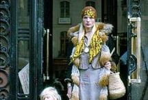 The School of Bohemian / Bohemian fashion with a 1970's retro twist. Style ideas from Charlotte's Web, Burberry Prorsum & Etro.