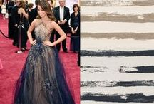 """""""Red Carpet Looks to Inspire"""": The Brown Jordan edition / From the red carpet to your home, take inspiration into your design style with our favorite looks and pairings."""