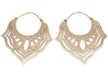 Trend Watch: Bohemian Brass Earrings / Our beautiful bohemian earring collection at Charlotte's Web is like a treasure chest of unique goodies #Boho #Bohemian #Earrings #Brass #Jewellery #Trend http://www.charlotteswebuk.com/collections/bohemian-jewellery