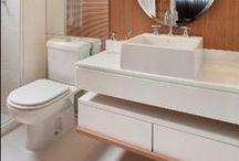 Banheiros / Projetos selecionados na web para que você se inspire