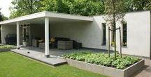 Jardins de ville / petits jardins et jardins de maisons de villes #jardins