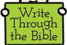 Bible curricululm / by Sandy's Home school
