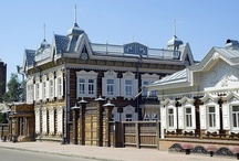 Wooden Russian Buildings / Awesome ornate wooden Russian architecture!