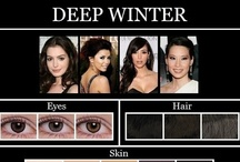 Deep Winter - my colour type / by Astral Pantheress