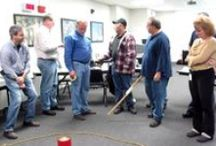 Team Building Activities / Ideas for group get-to-gethers, icebreakers, reunions and team building activities