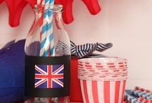 PARTY ♥ very british / by Casa di Falcone