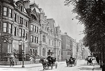 Victorian Mansions / Largely grand residential architecture built between c. 1860-1900 in (or by) the English speaking world.