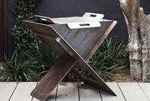 Robert Plumb Fire Pits, BBQ's & Pizza Oven / Robert Plumb Firepits and BBQ's designed by William Dangar.