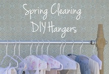 Springtime Floral Hangers DIY / by Shabby Chic
