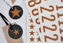 STATIONERY ♥ Label / by Casa di Falcone