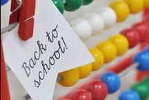 Inspiration ♥ school I Einschulung / Ideen und Produkte rund um den Schulanfang