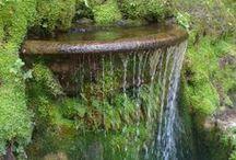 Fountains & Water Features... / by Gloria de Lourdes Blalock (Méndez)