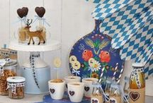 PARTY ♥ Oktoberfest / Oktoberfest party theme by Casa di Falcone http://blog.casa-di-falcone.de/?p=4311