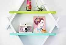 Shelf Decor / Follow for ideas on styling perfect shelves, whether you prefer eclectic, minimal , whimsical or elegant style. Use a mix of plants in cute planters, ceramics, books, crystals and vases, both vintage or new, to achieve a modern look.