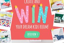 #AdairsKids Dream Room / A dream kids bedroom for Toby & Jonty; Loving Adairs Kids! / by Renee Lazaro
