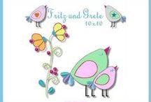 Embroidery / Stickdateien / http://www.xn--gretevomlndle-jfb.de/  http://de.dawanda.com/shop/GretevomLaendle