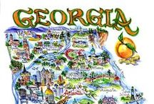 Georgia / Some peach-worthy pins for keeping Georgia on your mind!