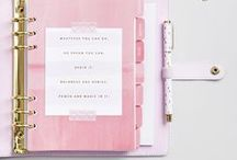 Calendars and Planners / calendars, planners and journals for 2018 ↠ yearly and monthly printables and planner templates that you can download for free or purchase on Etsy ↠ DIY ideas ↠ beautiful design and layout so they look great on your wall or desk ↠ everything for organization and productivity lovers