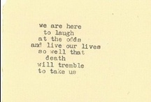 lovely Words/type/design / by Sasha Hatherly