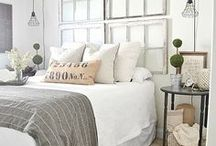 Master Bedroom Inspiration / Beautiful ideas for decorating a master bedroom