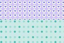 Papel Deco / para scrapbook - descargables - / Todas las plantillas y papel deco hecho por Craftingeek* para descargar totalmente gratis, con ellas puedes decorar tus tarjetas, libretas, cajas, etc. http.//craftingeek.me / by Craftingeek