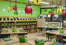 Teaching: Classroom Design / Storage ideas. What the classroom looks like. Things in the classroom. Classroom decor. Bulletin boards. Making the classroom a more efficient place to learn. / by Jackie Gardner