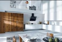 Keukens | Modern strak minimalistisch greeploos