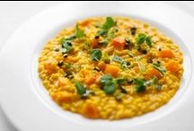 Velvety Risotto  / Lovely recipes that pay compliment to the Italian rice