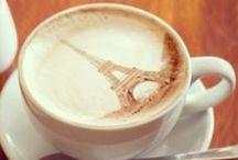 Latte art / cute coffee & tea with latte art !