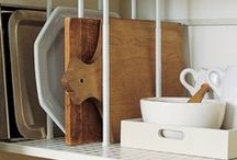 ORGANIZE + KITCHEN / KITCHEN + PANTRY Organizing ideas and products for the heart of your home (your kitchen)!