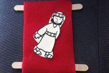 Preschool Kids....Bible crafts