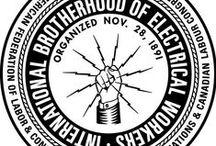 union logos, etc. / union logos, etc