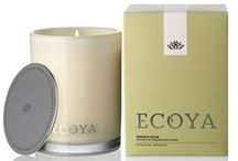 ECOYA French Pear / The essence of a crisp tree ripened pear is captured and blended with a hint of creamy vanilla.  This sophisticated and rich combination is then infused with star anise for a scent akin to freshly baked apple crumble.