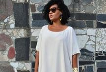 Orobo Girl Beautiful in White / White outfits for Orobo (big) girls