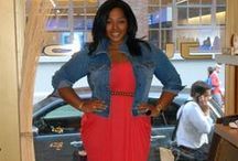 Orobo Girl Beautiful in Denim Shirt/ Jacket / Denim top ideas to compliment any oufit and Orobo (big) figure