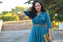Orobo Girl Beautiful in a Shirt Dress / Different shirt dress ideas to suit any Orobo (big) girl figure