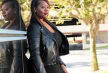 Orobo Girl Beautiful in Black / Figure flattering outfits in black that will suit an Orobo (big) girl