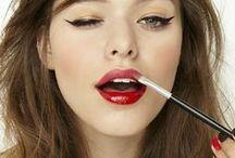 Makeup. / Makeup looks.