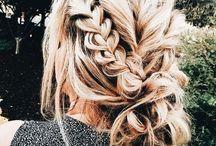 Inspiração de cabelos / Os melhores penteados, tipos e cores de cabelo!