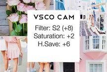 VSCO FILTER / Os melhores filtros do aplicativo VSCO para edição de fotos.