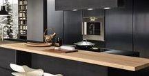 Zwarte keukens voorbeelden