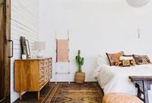 Boho Chic Interiors / Beautiful apartments with Boho Chic interiors.
