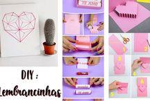 Faça você mesmo - DIY / Faça você mesmo: artesanato, presentes e decoração!