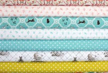 Fabric / by Pretty Bobbins Quilting
